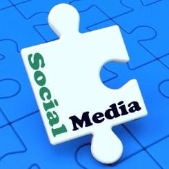 Image of Social Media Jigsaw piece
